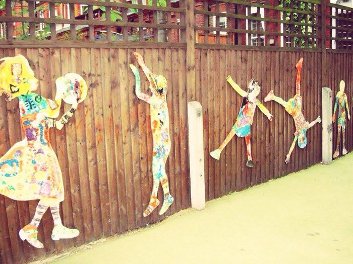 Pattern Pieces Playgrounds London Pastel Power Lively And Creative Kids Playing Great Idea  Being Happy Playing Time