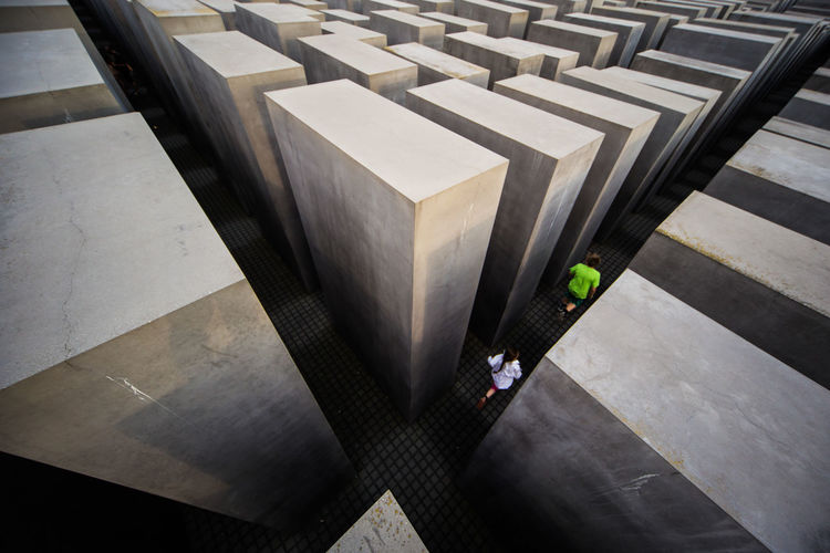 Maze Memorial Architecture Concrete Day Geometric Shape High Angle View Stone Discover Berlin The Week On EyeEm