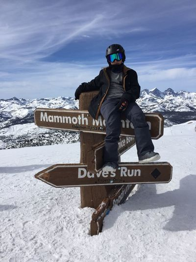 Mammoth Mountain Mammoth Lakes Mammoth California Peak Snow Snow ❄ Snowboarding Snowboard Skiing Ski Mountian Peak Mountian Top Cold Cold Temperature Winter Dave's Run California California Mountains El Niño Deep Snow