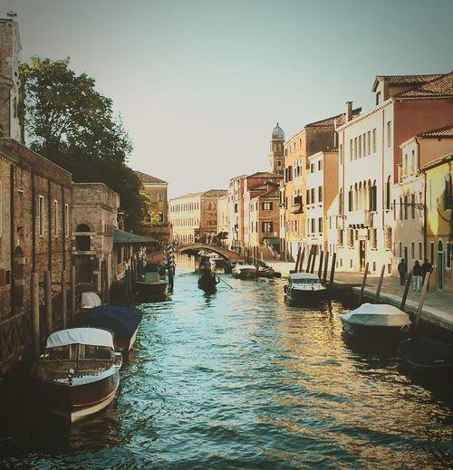 Old Venice Gondola Italy🇮🇹 September Sun Eyemphotography
