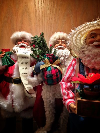 Santa ... pause✨🎅🏻✨😊 Tadaa Community Christmas Indoors  Close-up Christmas Decoration No People Santa Claus Figurine  Holiday