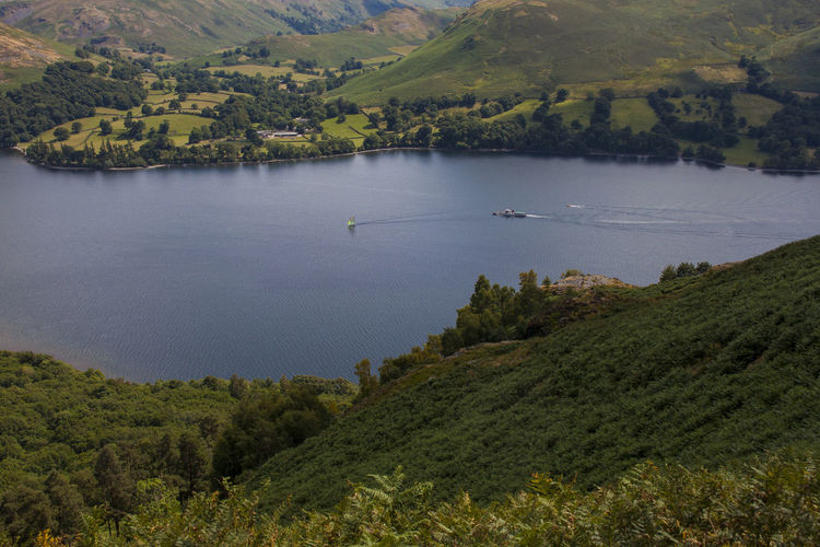 Travel in style Lake District Ullswater Beauty In Nature Day Environment Forest Green Color Growth Lake Land Landscape Mountain Nature No People Outdoors Plant Scenics - Nature Tranquil Scene Tranquility Transportation Tree Ullswater Steamer Water The Traveler - 2018 EyeEm Awards