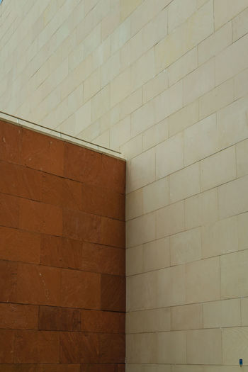 Low angle view of wall