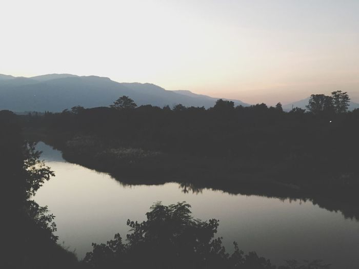 Chiangmai Mountain Ping River  River
