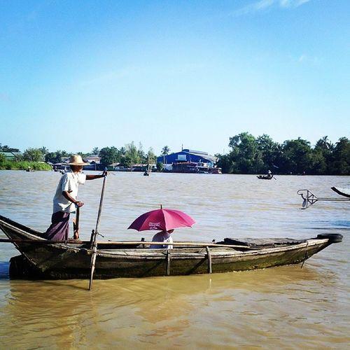 Wakema Myanmar Igersmyanmar Boats ferry