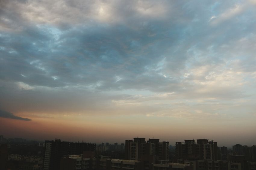 Shades of Sky❤ Nature beauty in Nature photography DSLR WOW sky colour of life Nature Beauty In Nature Photography DSLR WOW Sky Colourful Sky Colors Of Nature Ananya's Gallery Shades Nature Is Art Nature Photography EyeEm Best Shots EyeEm Nature Lover Nature_collection Naturelovers EyeEmNewHere Canonphotography Canoneosrebelt6i City Cityscape Urban Skyline Skyscraper Sunset Illuminated Dusk Modern Dramatic Sky Sky Sky Only Atmospheric Mood Romantic Sky Moody Sky Cloudscape Silhouette Shining Fluffy Atmosphere