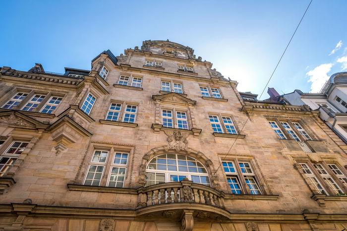 City Deutschland Fachwerk Fachwerkhäuser Innenstadt Marburg An Der Lahn Schloss Germany Hessen Marburg Town Hall