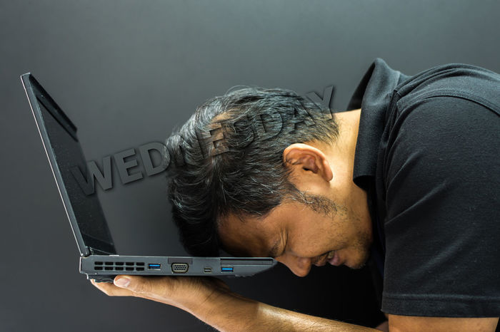 Businessman Casual Clothing Close-up Communication Computer Connection Day Indoors  Internet Keyboard Laptop Men Mid Adult Men One Person People Real People Technology Using Laptop Wireless Technology Working
