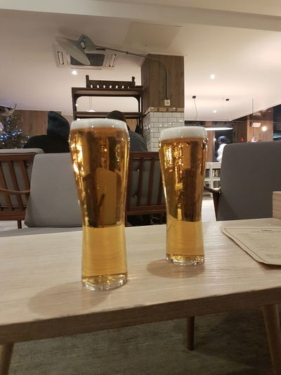 Indoors  Alcohol LONDON❤ Leisure Activity Beer Beer O'clock Beer Time Drink Drinking Beer My Year My View Beer - Alcohol Bar - Drink Establishment At The Bar Drinking