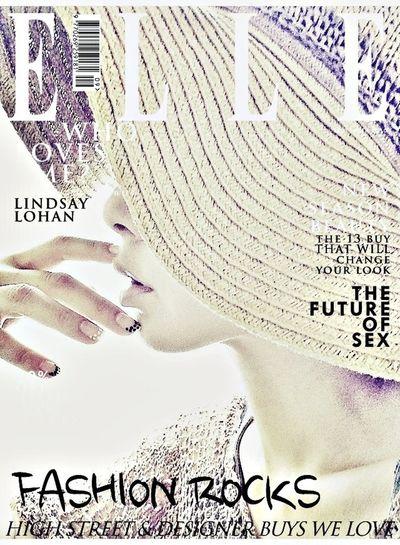 like a model of magazine :D That's Me Elle Joke ;-) Goodnight