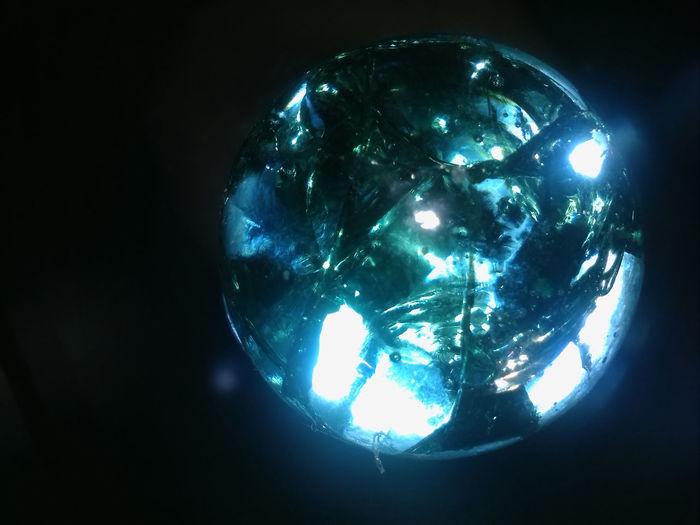 Raquel L.C. Coêlho Balcony Bola Cracked Glass Ball Glass Gude Lascado Trincado Vidrio First Eyeem Photo