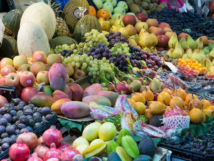 Bolhão market. Fruit Variation Food And Drink Choice Grape Market Healthy Eating Food Apple - Fruit Freshness Market Stall Day Outdoors Pear Large Group Of Objects Mango Fruit Abundance Retail  Banana Peach