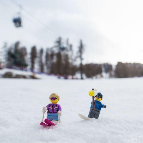 Skiing Ski Serre Chevalier  Deepfreeze