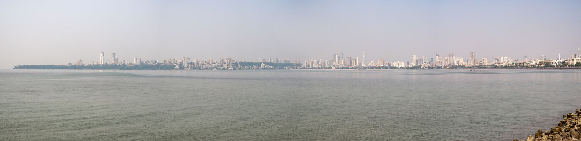 Mumbai Architecture City Cityscape Urban Skyline Travel Destinations Waterfront Outdoors Water Day Travel Nikon Nikon Df Panorama Panoramic Photography Panoramic Skyline Nikonphotography