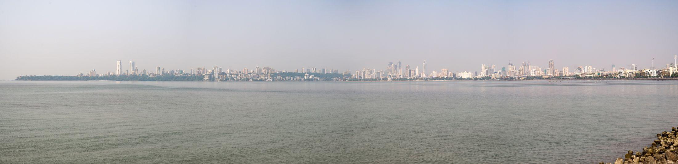 Mumbai Architecture City Cityscape Urban Skyline Travel Destinations Waterfront Outdoors Water Day Travel Nikon Nikon Df Panorama Panoramic Photography Panoramic Skyline Nikonphotography