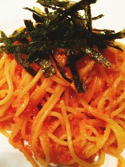 たらこスパ Seasoned Taste Spaghetti <3 Hello World Hi! Enjoying Life Japanese  Japan Rock'n'Roll Check This Out