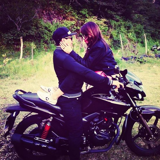 only you baby❤ Motorcycle Love♡ Youreperfect Loveinfinity