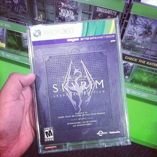 Guys y'all need to get me this! Skyrim Xbox Haopy Camper