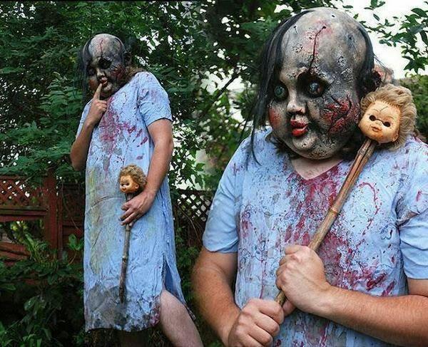 mi proximo disfraz para el año que viene en halloween -2015- Halloween Disfraz Miedo.
