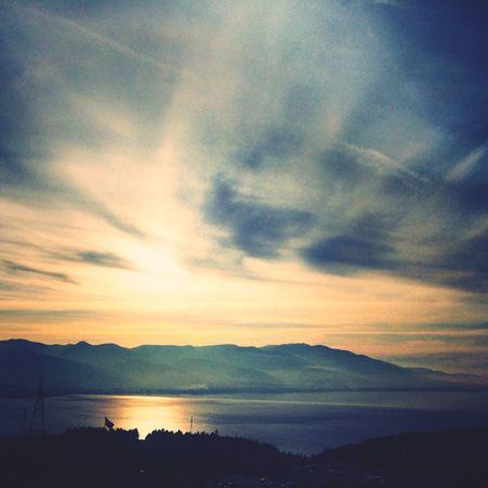 Sunset Sapanca Lake