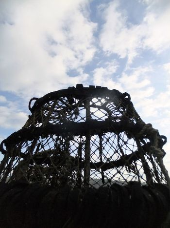Harbour Insights Lobster Pot Low Angle View No People Outdoors