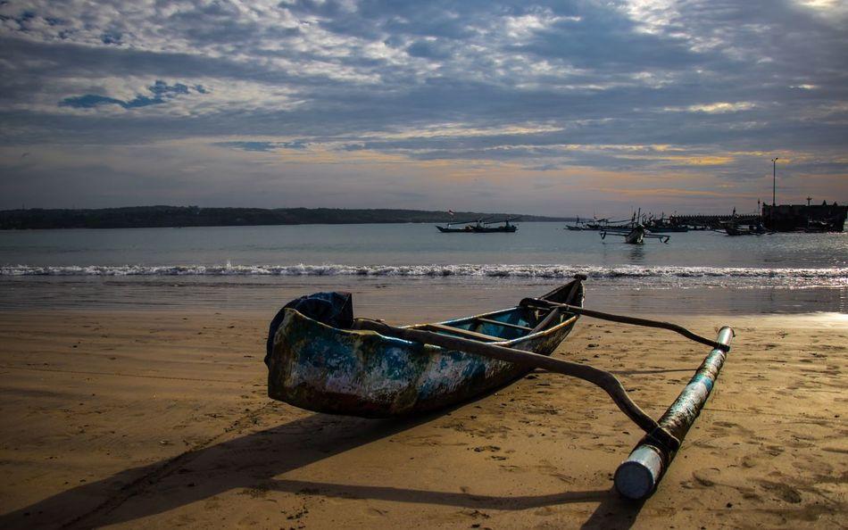 Bali INDONESIA Sea Boat Beach Landscape EyeEmNewHere EyeEmNewHerе