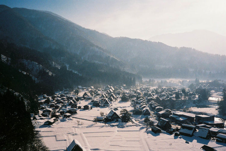 Shirakawa-gou, Japan Abundance Beauty In Nature Cold Fog Ice Age Japan Large Group Of Objects Mountain Nature New Year Non-urban Scene Scenics Sky Snow Tranquil Scene Tranquility Vacations Winter The Week On EyeEm Ice Age EyeEm Nature Lover My Year My View