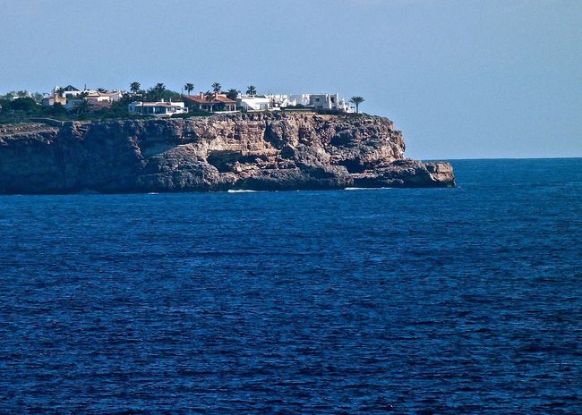 Amazing View Architecture Architecture Beauty In Nature Blue Cliff Coastline Enjoying Life Holiday Horizon Over Water Majestic Mallorca Mediterranean Sea Nature Rock Formation Scenics Seascape SPAIN Taking Photos The Essence Of Summer The Great Outdoors With Adobe Tranquil Scene Travel Waterfront Wineandmore