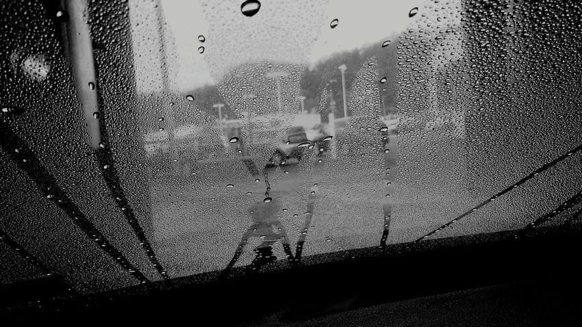 Glass - Material Window Transparent Drop Vehicle Interior Wet Car Interior Transportation Car Windshield Car Wash Water Looking Through Window Land Vehicle Mode Of Transport Close-up Indoors  No People Washing Sky EyeEmNewHere