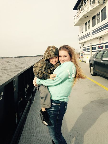 He's all I need ? Boat Ride Enjoying The Sights Babyboy Lovelife