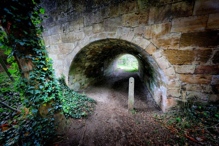 Wansford Arch Architecture Tunnel Built Structure No People Wall Wall - Building Feature