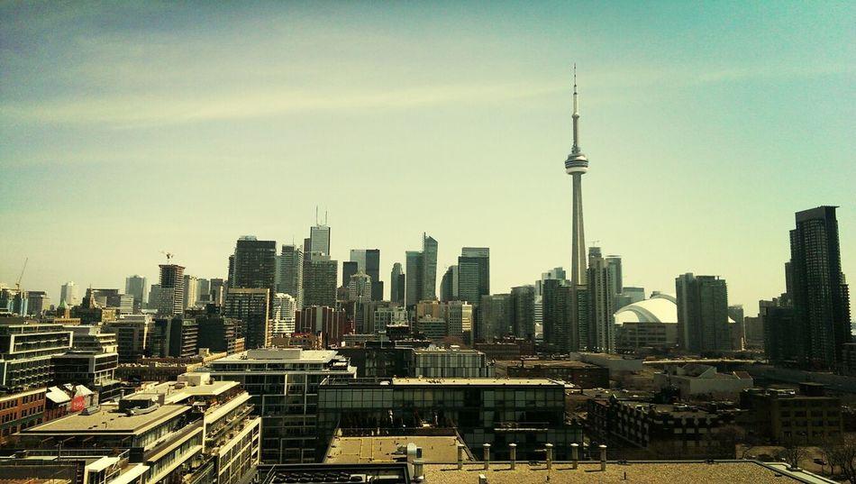 Toronto Skyline from Thompson Hotel Toronto Skyline City