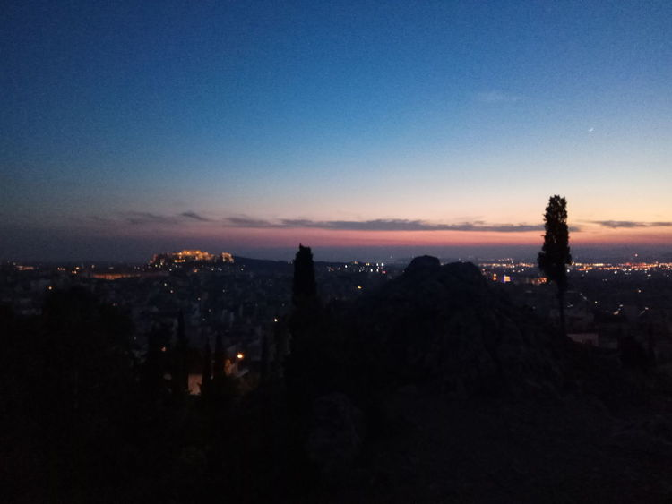 Acropolis View Walking The Dogs Nofilter#noedit End Of The Day No People Cityscape City Sky
