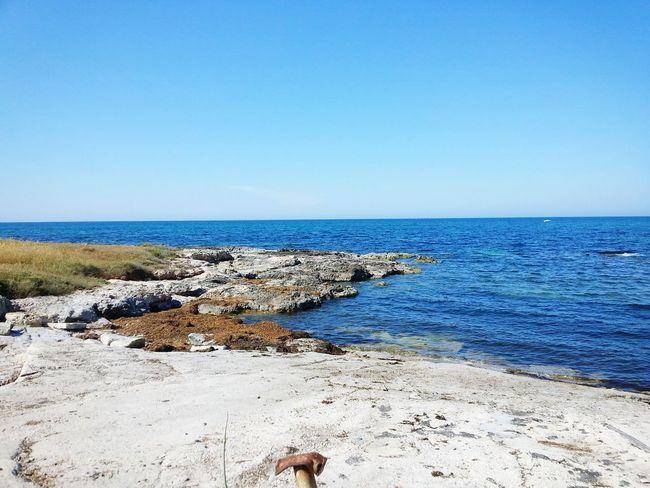 Un saluto dal mare della Puglia