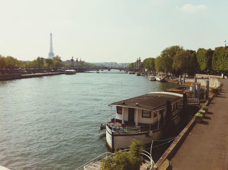 Paris Ailine Filter View La Seine