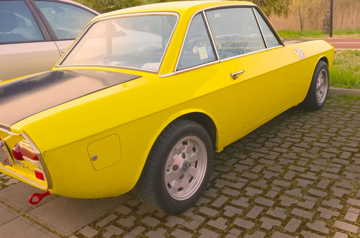 60's 60's Style.... 70's 70's Style Old Style Outdoors Vintage Vintage Cars Vintage Photo Yellow First Eyeem Photo