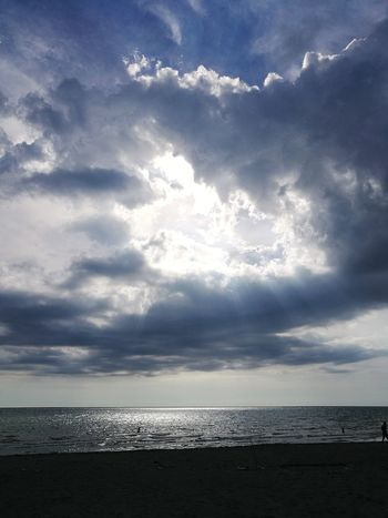 Sea Beach Water Horizon Over Water Cloud - Sky Nature Tranquility Tranquil Scene No People Outdoors Beauty In Nature Scenics Sand Landscape Sky Day Wave