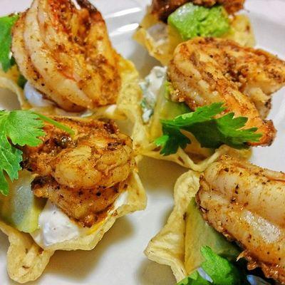 Shrimp Taco Bites Ddcatering