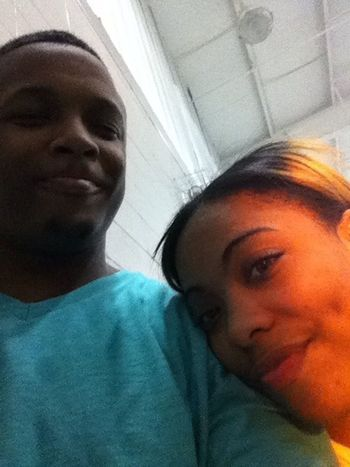At gym wit bae