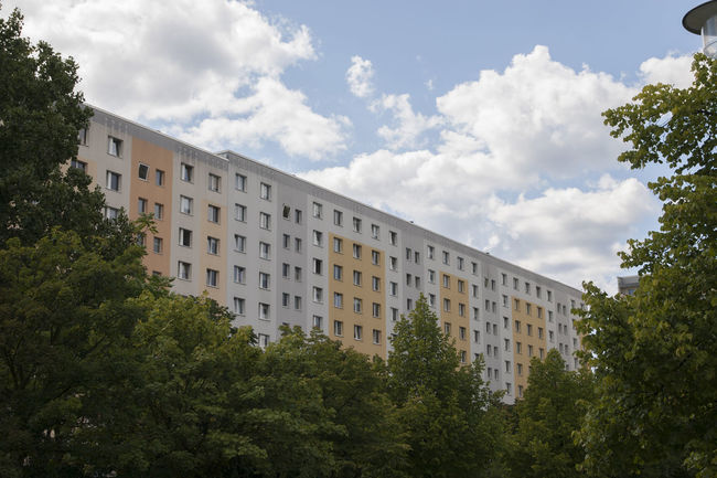 Apartment Apartment Block Architecture Berlin Building Exterior Built Structure City Cityscape Day Europe Germany House Housing Housing Estate No People Outdoors Sky Tree Trees