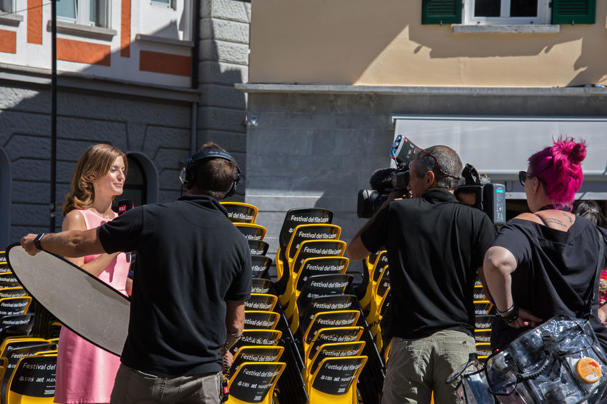 Battle Of The Cities 2016 People And Places Locarno Film Festival Recording Session TROUPE Tv Rsi The City Light