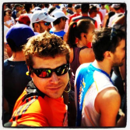 Je vais voir courir mon demi marathon d'Ottawa but first, let me take a selfie!