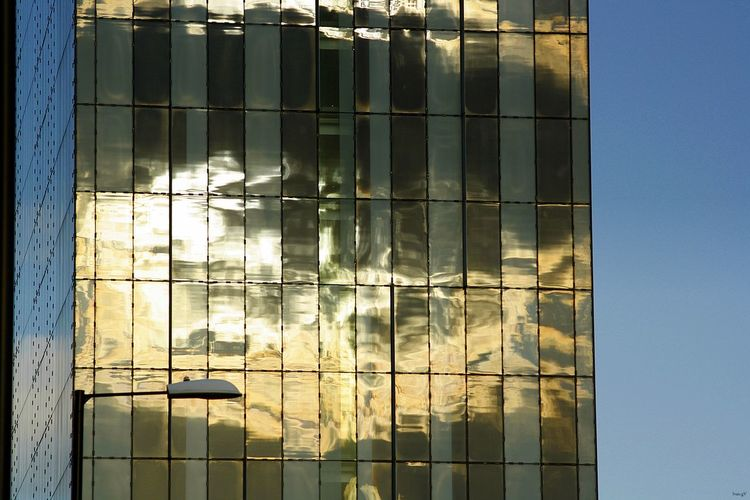 Glow building reflection Glowing Sun Building Exterior Building Reflections Reflection_collection Reflections ☀ Building Art Building Materials Enjoying Life EyeEm Best Shots Finsh Line Hotel View Hotels In The World Hotel Hilton Hotel History