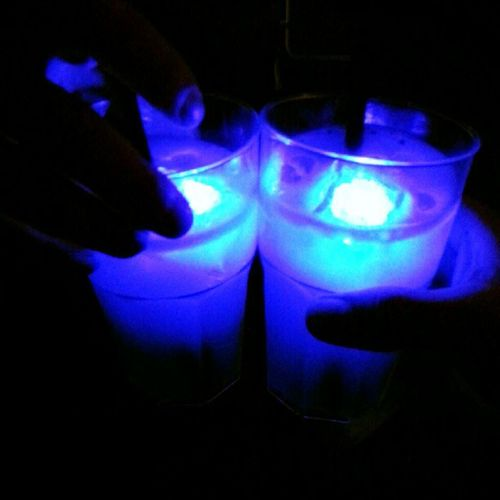 Glow-in-the-dark cocktails. #thisiscologne #OMClub #dmexco Thisiscologne Omclub Dmexco