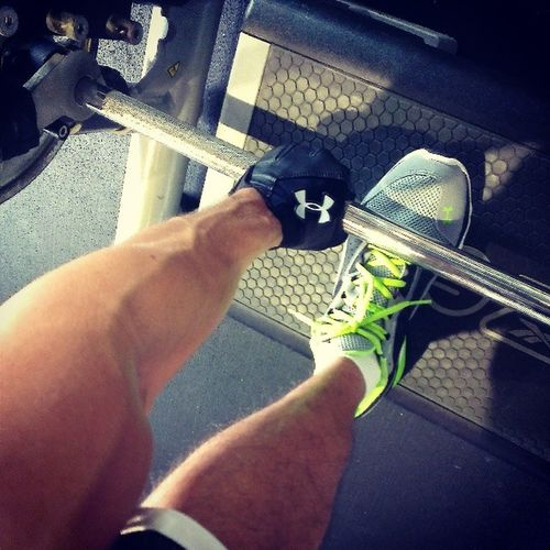 Deadlifts anyone? Humpday GymShit Gym fitness wellness fitfam AsweatAday underarmour