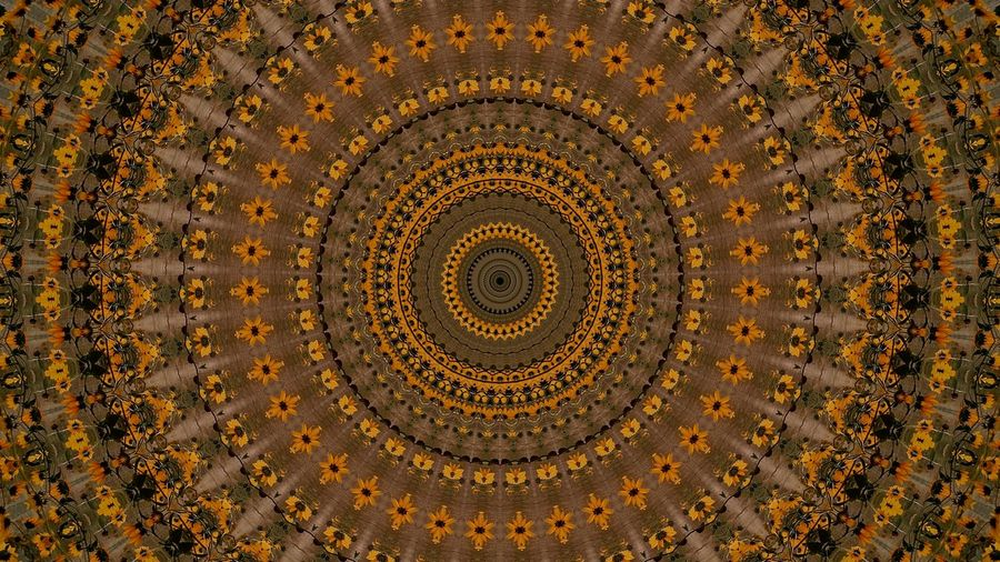 Pattern Backgrounds Full Frame Concentric Brown Textured  Gold Colored Indoors  Beauty Close-up No People Day Astronomy