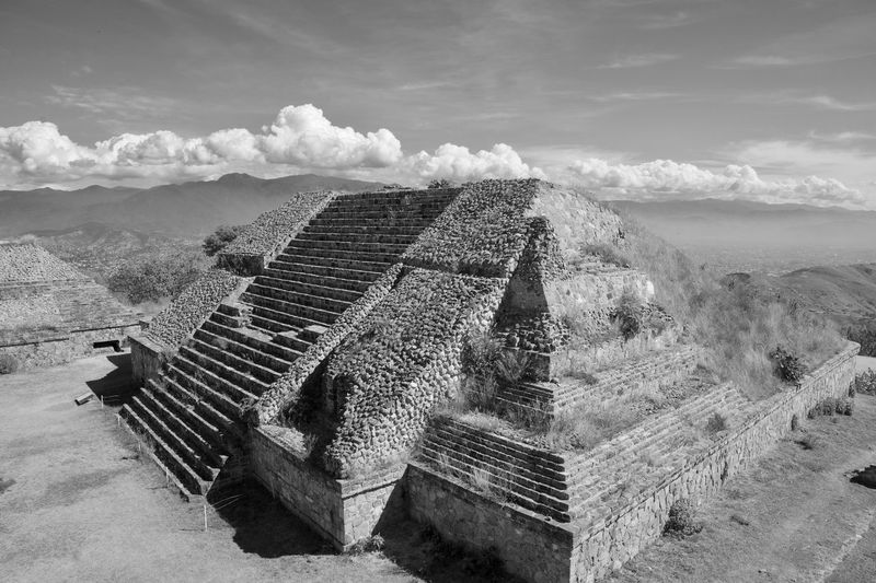 EyeEmNewHere Blackandwhite Mexico Ancient Architecture Ancient Civilization EyeEm Selects Sky Day Steps Nature Outdoors No People EyeEmNewHere