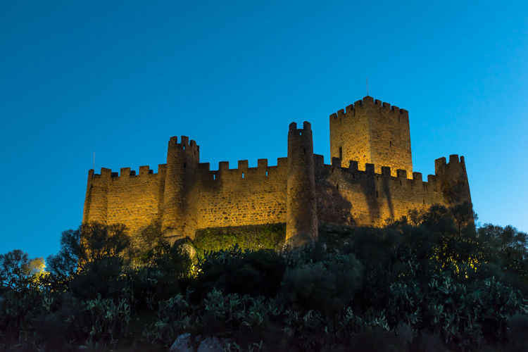 Castle of Abrantes Portugal Ancient Ancient Civilization Architecture Building Exterior Built Structure Castle Clear Sky Day Fort History Low Angle View Nature No People Outdoors Sky Travel Destinations