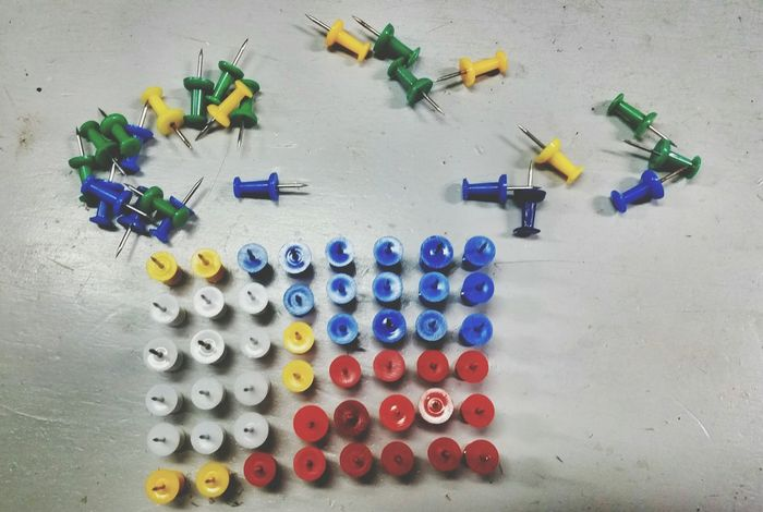 Philippine-flag out of push pins. Ilovephilippines Ilovephotography