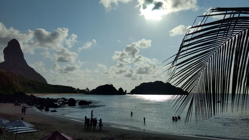 Praia do cachorro Beauty In Nature Nature Horizon Over Water Nautical Vessel Vacations Day